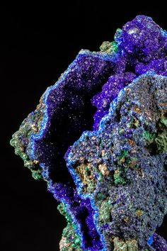 Azurite & Malachite Fine Mineral Specimen for sale