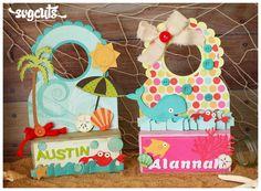 Adorable DIY paper doorhangers for Summer for kids <3