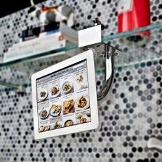 Suporte iPad AnyPad Cook  Perfeito para ser utilizado na cozinha