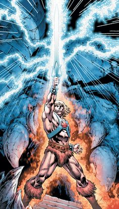 He-man and the Masters of the Universe - James Robinson (w) Philip Tan and Ruy Jose (a) DC Comics Steven Universe, Universe Art, Thundercats, Gi Joe, He Man Tattoo, Comic Books Art, Comic Art, Hee Man, Master Of The Universe