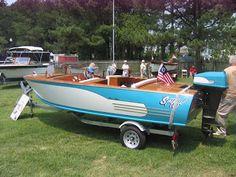 Classic Ski Boat