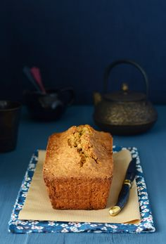 Merengue y frambuesa: Loaf Cake de zanahoria y speculoos