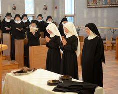 Abbey of Saint Walburga Benedictine Contemplative Nun New novices