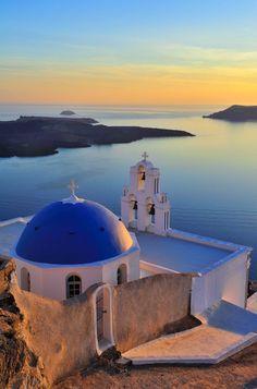 Sunset, #Santorini, #Greece