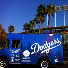 Dodger Blue truck sweet