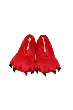 Ufosuit Winter Warm Soft Animal Paw Claw Flat Indoor Home Slippers (Red) | ราคา: ฿380.00 | Brand: Ufosuit | See info: http://www.topsellershoes.com/product/44480/ufosuit-winter-warm-soft-animal-paw-claw-flat-indoor-home-slippers-red