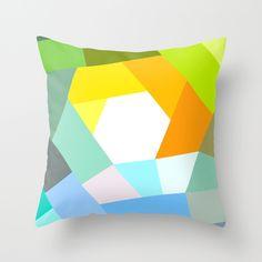 KOLOR+CRAZY+decor+pillow+from+LAMOPPE+by+DaWanda.com
