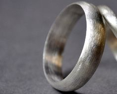 Wedding Band. Men's Single Band. Modern Contemporary by Epheriell, $77.00 Etsy