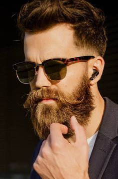 10 Best Beard and Hairstyle Combos