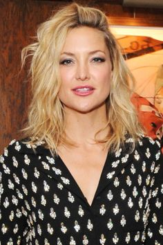 36 of the chicest celebrity haircuts to sport this summer; Kate Hudson.