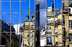paris building reflection picutes