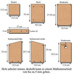Building nesting boxes / Nesting aids for cave breeders: tit house sparrow field sparrow redstart pied flycatcher collared flycatcher Bird House Feeder, Bird Feeders, Bird House Plans Free, House Sparrow, Mushroom House, Glass Fit, Nesting Boxes, Woodworking Shop, Bird Houses