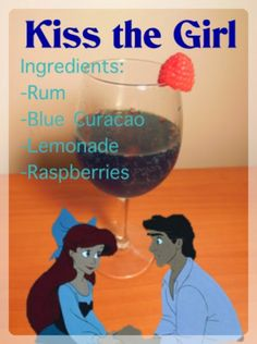 Sha-la-la-la-la-la-my-oh-my!     I can't stop singing that song while making this drink and while making the post for this drink!     A...