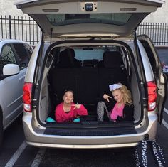 January 22, 2015: Why sit in a regular seat when you can sit it the trunk #clubhouse