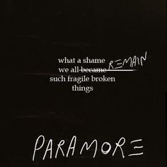 Paramore- Let the Flames Begin// Part II