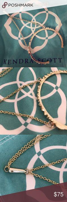 Rare to find KS handchain! Perfect condition. Worn maybe once. Rare Kendra Scott gold handchain Kendra Scott Jewelry Bracelets