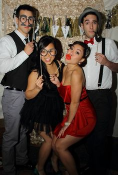 great gatsby themed weddings | great gatsby photobooth props themed dance themed parties sorority ...