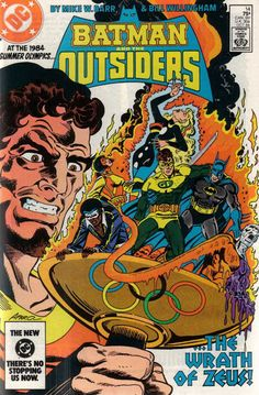 Chris is on Infinite Earths: Batman and the Outsiders #14 (1984)