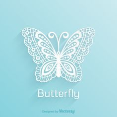Free vector Free Paper Lace Butterfly Vector #5635