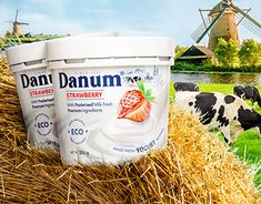 Yogurt Packaging, Natural Yogurt, Packaging Design, Studio, Studios, Design Packaging, Package Design