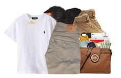"""#60: G A B B Y..."" by chilly-gvbx ❤ liked on Polyvore featuring NIKE and True Religion"