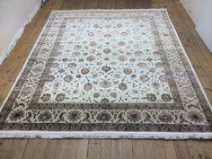 Faraje woll und silk  Nomaden  orientalisch Teppich 300 x 251  cm Carpet