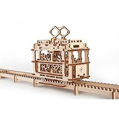 460 Steam Locomotive With Tender Mechanical 3d Puzzle