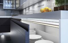 Verso LED Drawer Lighting, adding a ultra sleek look to any kitchen