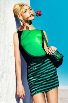 Abiye Budur : Desigual 2013 Yazlık Elbise Modelleri