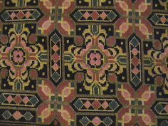 ΚΕΝΤΗΜΑΤΑ ΤΗΣ ΡΟΝΙΤΣΑΣ Cross Stitch Embroidery, Needlepoint, Bohemian Rug, Mandala, Rugs, Crafts, Patterns, Decor, Farmhouse Rugs