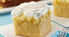 This moist cake, flavored with coconut extract and crushed pineapple, brings a taste of the islands to your table.