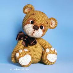 Bruno the Teddy Bear - Amigurumipatterns.net