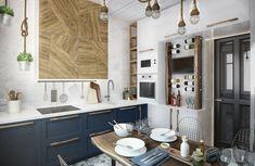 Как переделать захламленную кухню в уютное пространство   Свежие идеи дизайна интерьеров, декора, архитектуры на InMyRoom.ru