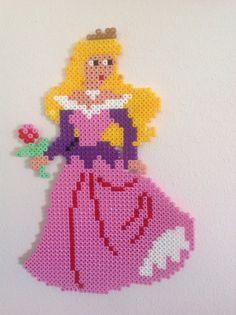 Disney Princess Aurora hama perler beads