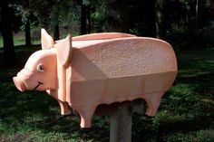 Image detail for -Mailboxes_ Farm Animals_Country Rustic_Birds Mailboxes Fish Mailboxes ...