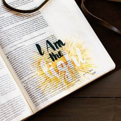 "I am journaling through all of Jesus's ""I AM"" statements in the book of John. This is my second entry in this series: ""I am the light of the world"" John 8:12 ""Again Jesus spoke to them saying I am the light of the world. Whoever follows me will not walk in darkness but will have the light of life."" John 9:1-7 ""As he passed by he saw a man blind from birth. And his disciples asked him Rabbi who sinned this man or his parents that he was born blind? Jesus answered It was not that this man…"