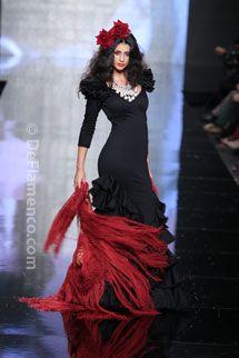 Trajes de Flamenca - Simof 2014 - Moda Flamenca - Adrián González