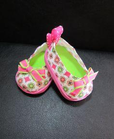 American Girl Doll Shoes 'Soda Pop Shoppe' por HauteDesignsByNorine