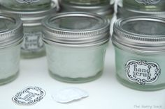 {Spa Party} Sugar Hand Scrub Recipe | The Gunny Sack