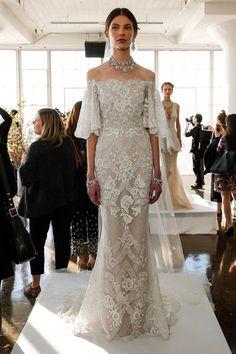 Pin for Later: Les 100 Plus Belles Robes de la Bridal fashion Week Printemps/Été 2017 Marchesa Printemps/Été 2017