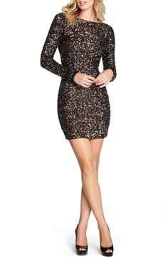 Free shipping and returns on Dress the Population Lola Body-Con Dress at Nordstrom.com. Flaunt your figure in this second-skin minidress aglitter in sequins and cut with a sensational low back.