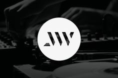 Logo Design / John William (DJ-Producer) by Maarten van 't Wout, via Behance