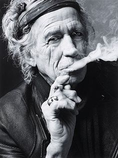 "MARK SELIGER, ""Keith Richards, New York, 2011"".. - Höstens Contemporary, Stockholm 576 – Bukowskis"