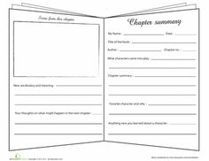 Printables Summarizing Worksheets 3rd Grade summary worksheets and fiction on pinterest chapter summary