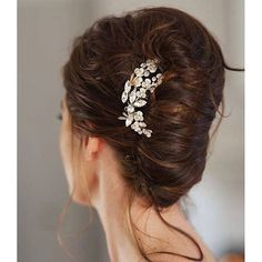 Beautiful messy French twist