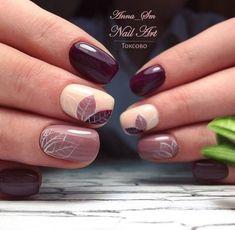 Semi-permanent varnish, false nails, patches: which manicure to choose? - My Nails Fall Nail Art Designs, Beautiful Nail Designs, Stylish Nails, Trendy Nails, Nail Manicure, My Nails, Nagellack Trends, Pretty Nail Art, Autumn Nails