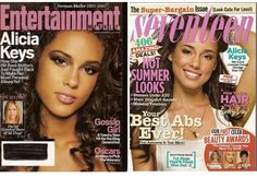 Alicia Keys 2 Magazine Lot Entertainment Weekly Seventeen 2008 Norman Mailer #AliciaKeys