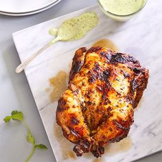blackened chicken Peruvian chicken made in an air fryer is quick to prep and packed with amazing flavor. This is a classic blackened chicken dish originating from Lima, Peru. Pampered Chef Recipes, Cooking Recipes, Peruvian Chicken, Cooking Twine, Air Fryer Recipes Easy, Easy Recipes, Dinner Recipes, Blackened Chicken, Stuffed Whole Chicken