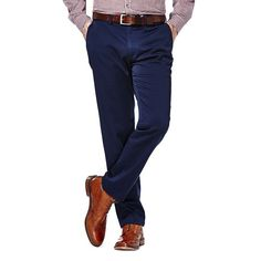 Men's Haggar Slim-Fit Sustainable Twill Chino Pants, Size: