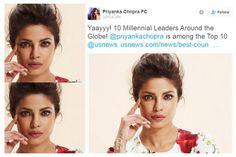 Former Miss World Priyanka Chopra strikes the global heights again